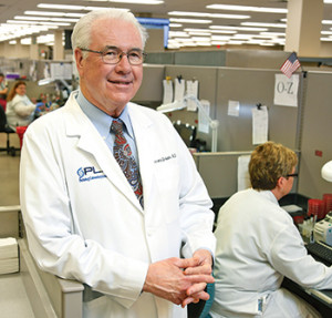 "Dr. C. Terrence Dolan of Regional Medical Laboratories, which has been in the vanguard of the data warehouse trend. ""We've got a major store of very clean data and have already been able to discover things that were not known before in health care,"" he says."