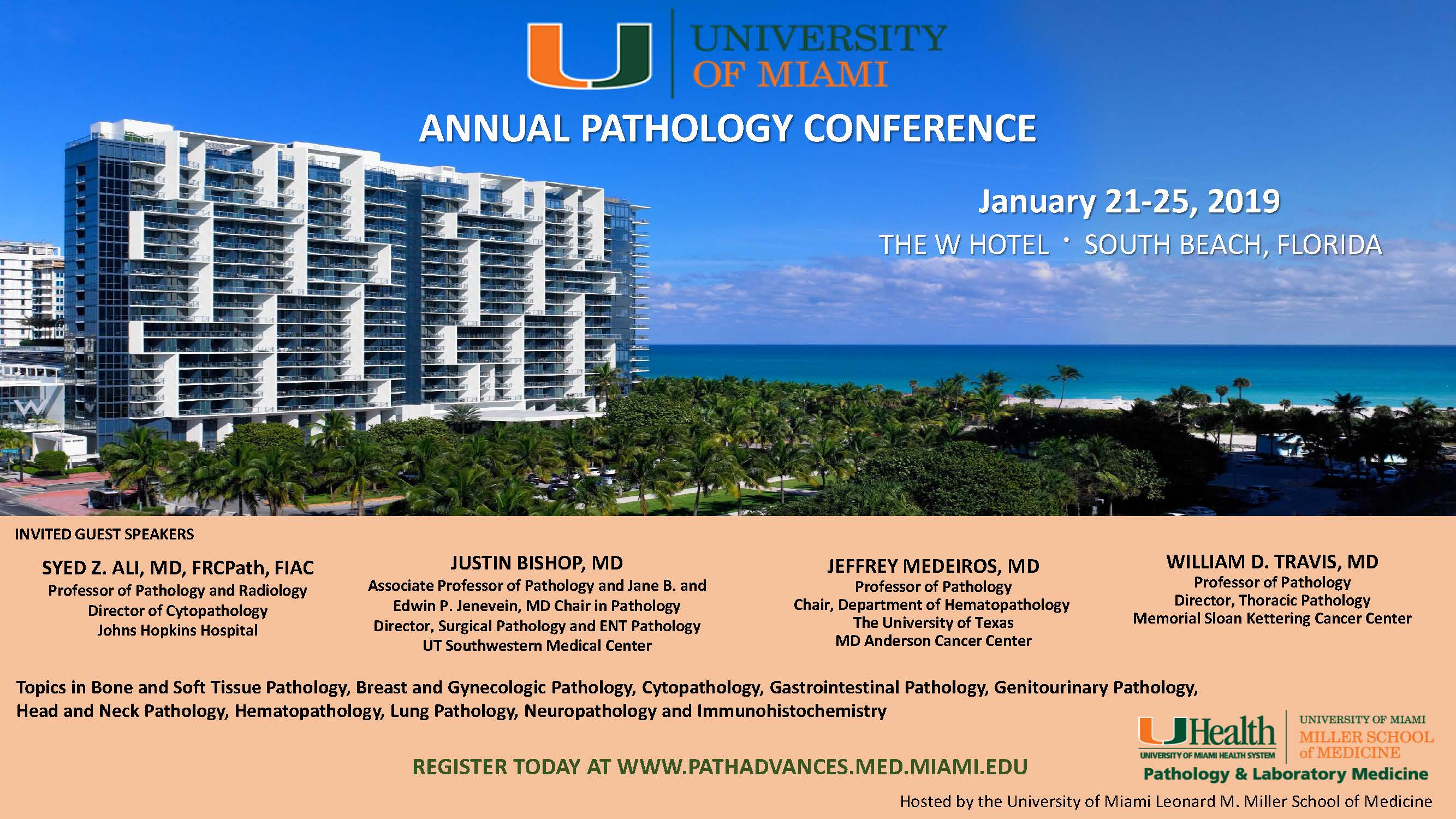 43rd UM Annual Pathology Beach Conference 2 10-25-18 | CAP TODAY