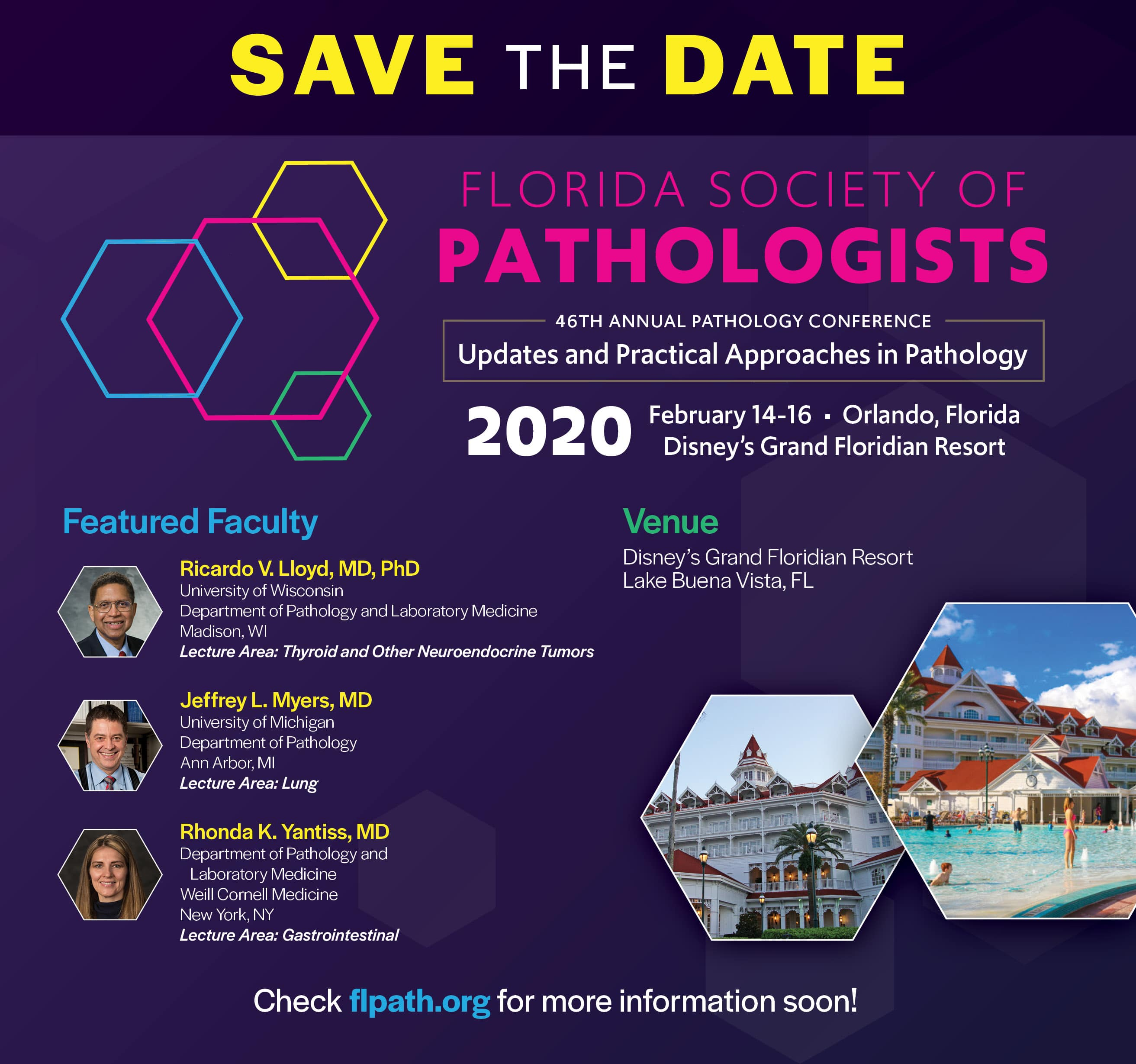 Conferences/Events & Webinars for Pathologists and